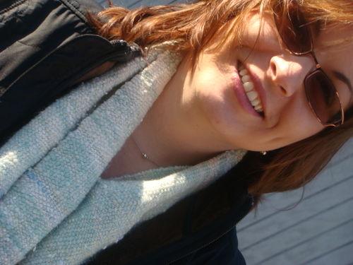 Jen scarf closeup