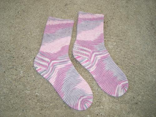 Faerie Feet Pink Socks