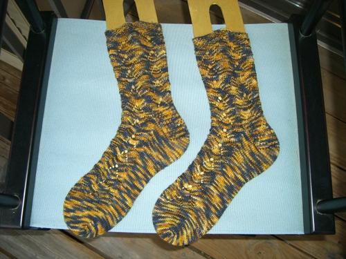 Cabin Cove Monkey Socks