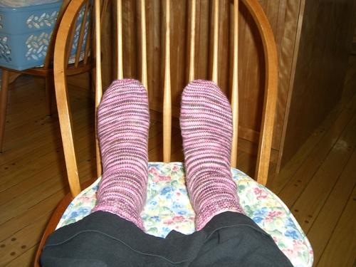 Chocolate Covered Cherries Socks
