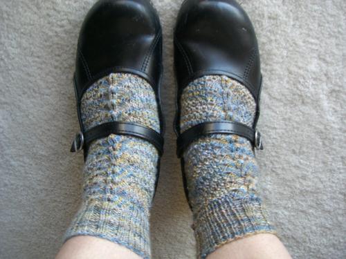 Stormy Day Socks