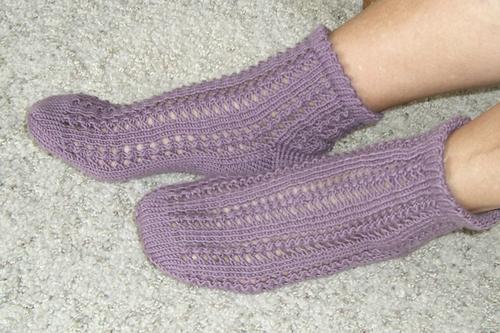 Simple Lace Socks