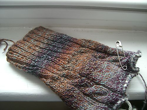 Trekking Cabled Bootsocks